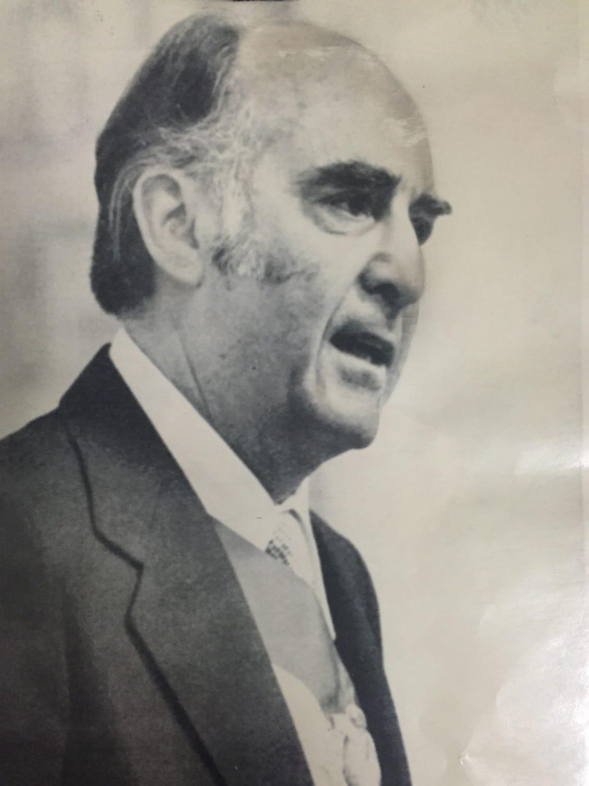 Former Mexican President Jose Ernesto López Portillo.