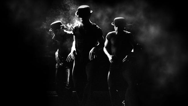 A scene from the Broadway musical Chicago.