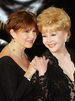 Carrie Fisher and Debbie Reynolds in 2007 in Henderson, Nev.
