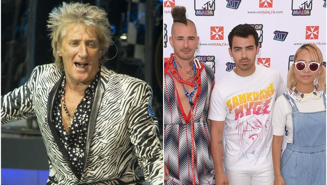 Rod Stewart and DNCE are joining forces to bring us a new version of 'Do Ya Think I'm Sexy.'