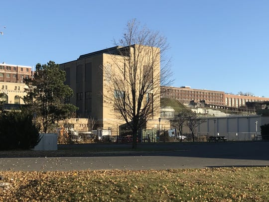 The building at Sing Sing prison in Ossining which