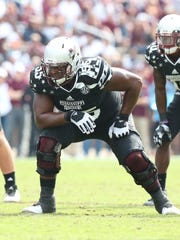 Mississippi State offensive ilneman Martinas Rankin would be a great fit for the New York Giants if he lasts until Day 2.