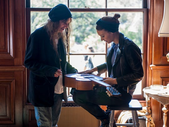 Patti Smith, left, and Rooney Mara found a connection