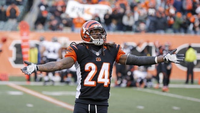 Cincinnati Bengals cornerback Adam Jones had his fine reduced for contacting an official in the team's wildcard loss to Pittsburgh in January.