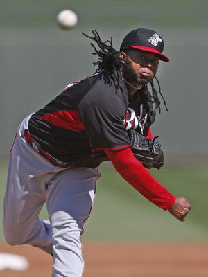 Johnny Cueto had another strong outing Friday.