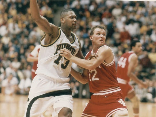 Purdue's Glenn Robinson was a dominant college player.