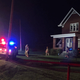 Police ID man killed after car slams into home