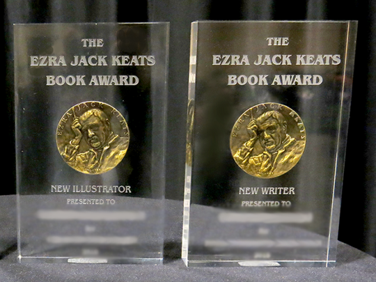 The winners of the Ezra Jack Keats Book Award, a writer and an illustrator early in their careers, will each receive a $3,000 prize and a bronze medallion suspended in Lucite.