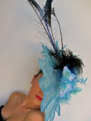 Designer Gwendolyn Gleason creates custom derby hats