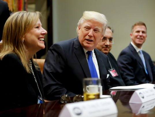 Donald Trump, Mary Barra, Sergio Marchionne, Shane Karr