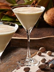 Tommy Bahama's Coconut Eggnog Martini.
