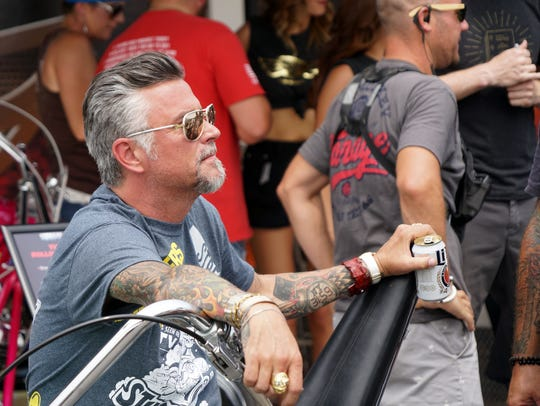 Richard Rawlings, the owner of Gas Monkey Garage and