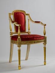 """Philadelphia Armchair"" (circa 1790) is among the works"