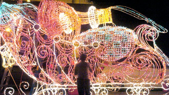 The annual Festival of Lights will be held in the Oil Center Dec. 2.