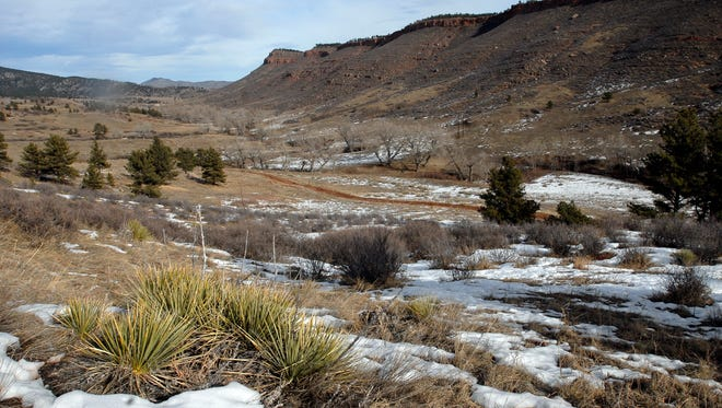 The site of the proposed Chimney Hollow Reservior project is just west of Carter Lake near Loveland.