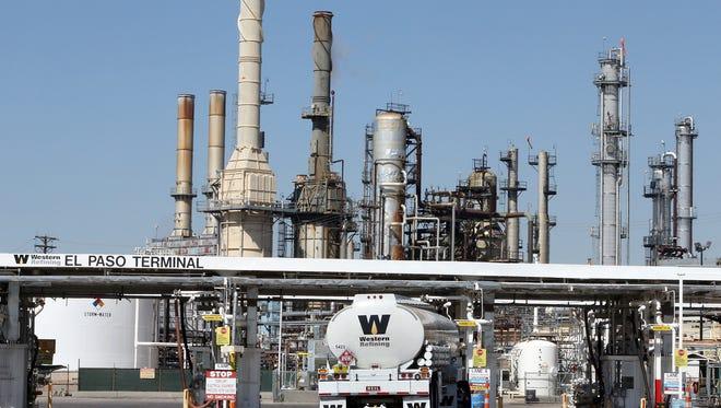 El Paso's Western Refining is being sold to Tesoro Corporation, based in San Antonio.