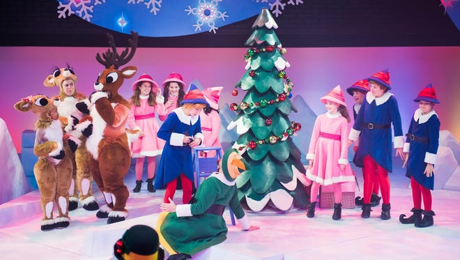"""First Stage performs """"Rudolph the Red-Nosed Reindeer™: The Musical"""" through Dec. 31."""