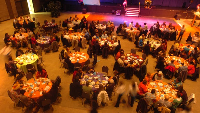 The crowd at the 2017 edition of Night in the Caribbean during last year's event. Saturday's event will be the eighth annual for The Dream Center's biggest fundraiser of the year.