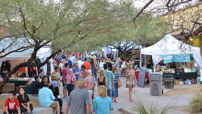 The Taste of Cave Creek takes place Wednesday and Thursday, Oct. 18-19 at Stagecoach Village in Cave Creek. The photo is a crowd shot.