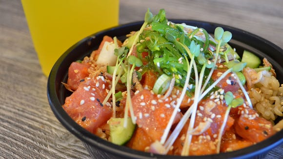 Poke bowls — which traditionally feature rice, raw fish and fresh toppings — have become wildly popular in the fast-casual restaurant industry.