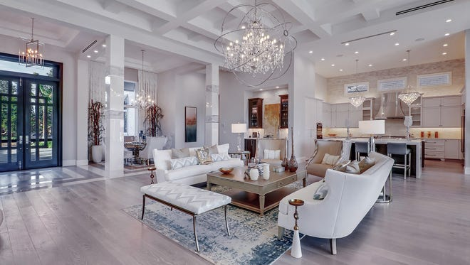 Iron Star Luxury Homes' 3,983-square-foot Villa Lago model in Talis Park's Fairgrove neighborhood is one of 12 residences in the  Luxury Home Tour.
