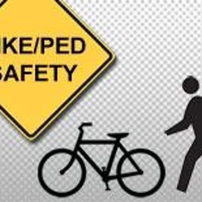 Biker Pedestrian safety
