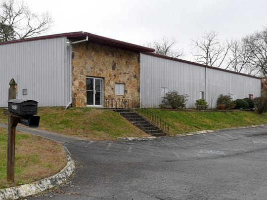 An unused building at 3343 Dewine Road is the proposed location of the safety center and former home of New Vision Fellowship.