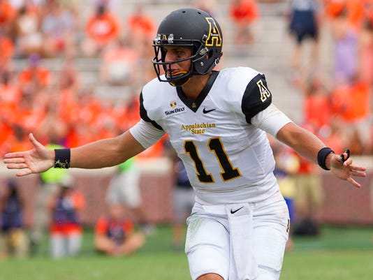 NCAA Football: Appalachian State at Clemson