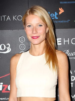 LOS ANGELES, CA - NOVEMBER 19:  Actress Gwyneth Paltrow attends imagine1day Annual Gala Honoring Tracy Anderson at SLS Hotel at Beverly Hills on November 19, 2014 in Los Angeles, California.  (Photo by Rachel Murray/Getty Images for imagine1Day) ORG XMIT: 523128385 ORIG FILE ID: 459283494