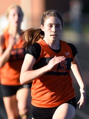 Junior Courtney Ohl finished fourth individually to help the York Suburban girls' cross country team to a second-place team finish in Class 2-A at the 23rd annual Ben Bloser Cross Country Invitational at Big Spring High School. DISPATCH FILE PHOTO