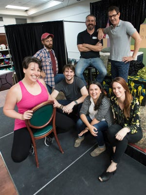 The Improvable Cause troupe of Debi Dunkerley, Michael Daw, Kyle Golden, Jay Bixler, Brooke Hardy, Christina Cusack and Bill Whalen, will hold its monthly performance Saturday, followed by a workshop Sunday.