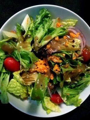 La Forchetta's balsamic salad.