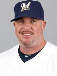 Brewers pitching coach Derek Johnson