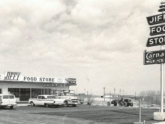 This Jiffy Food Store in the area of 10th and Beverly was one of the newest in the Wichita Falls-based convenience store chain in the late 1960s. The chain's former president, Fred H. Lowder, died June 21, 2017, after a lengthy illness.