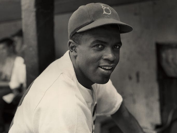 It was 70 years ago Jackie Robinson broke the major
