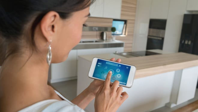 All of the features in a home function like conventional appliances, but can be automated by downloading an app and connecting it to Wi-Fi.
