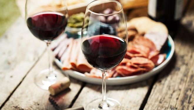 Food and wine.