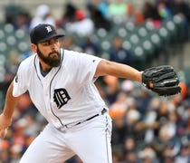Right-hander has yielded two earned runs while str...