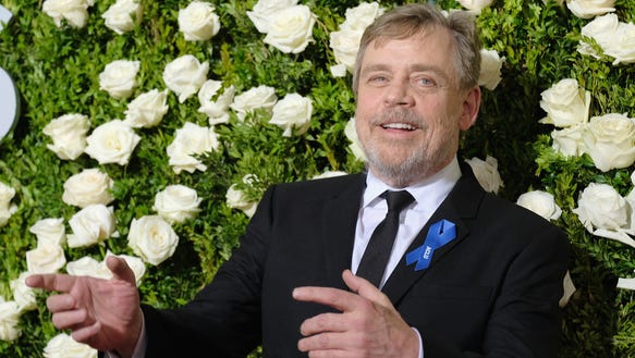 Actor Mark Hamill attends the 2017 Tony Awards at Radio