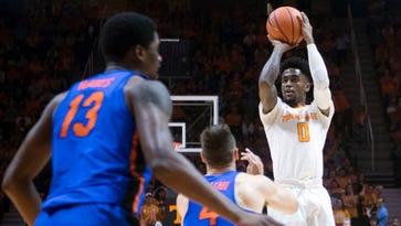Tennessee Vols basketball coach Rick Barnes glad to see pressure from Jordan Bone