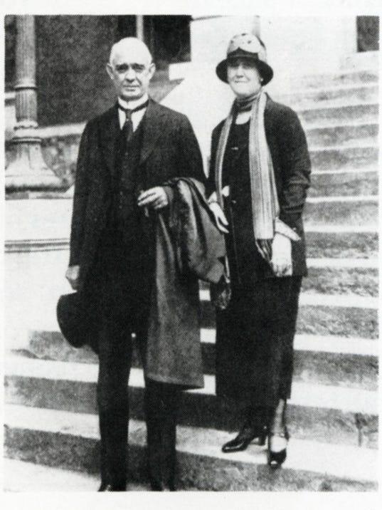 Austin Peay and Sallie Hurst Peay