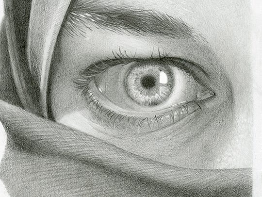 """""""How to Draw the Human Eye"""" by Megan Foldenauer of"""