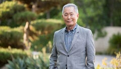 George Takei, photographed outside his Los Angeles