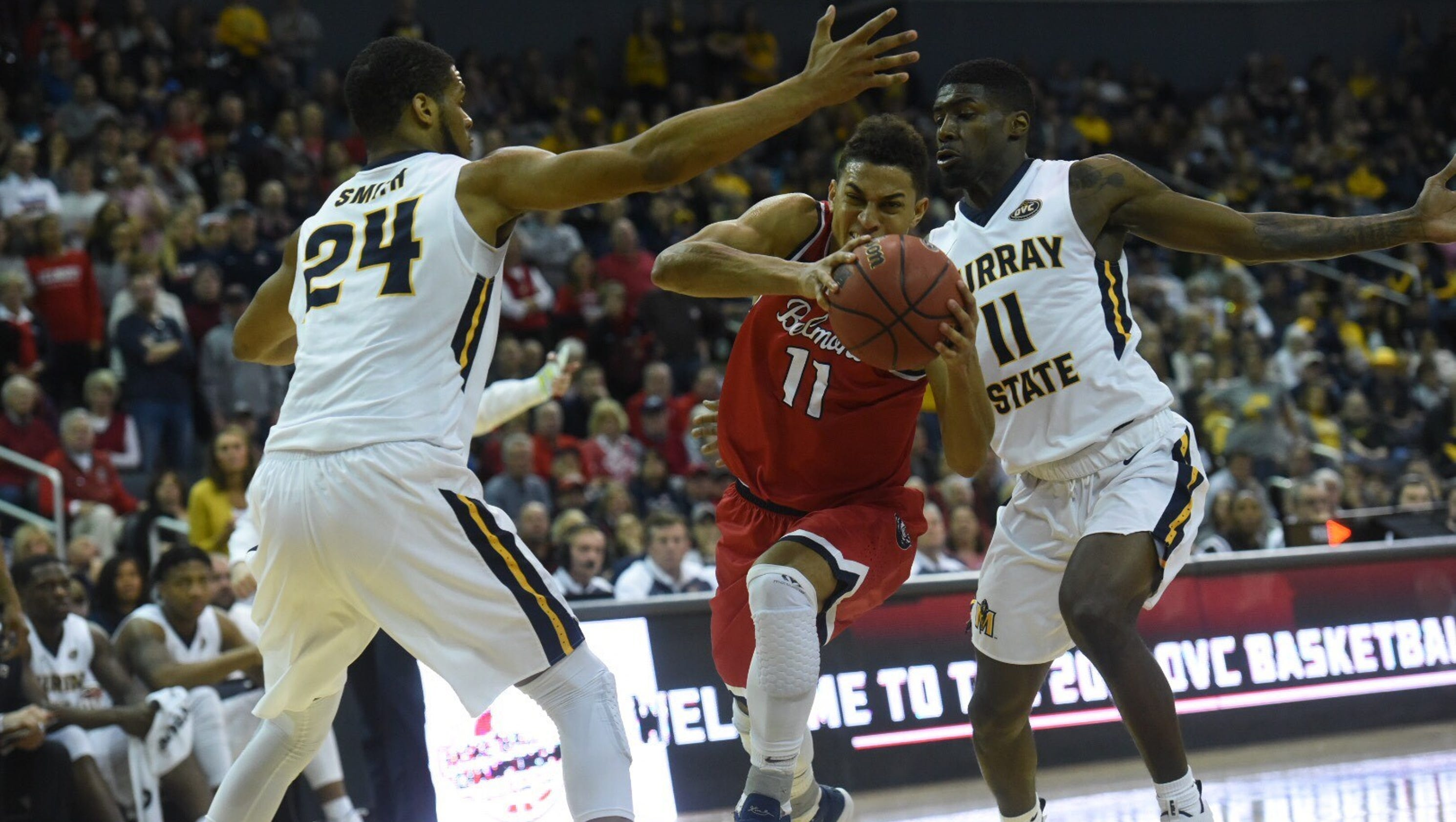 Belmont basketball loses OVC championship to Murray State