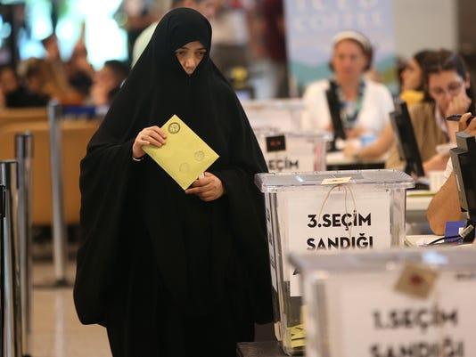 EPA TURKEY SNAP ELECTIONS POL ELECTIONS TUR