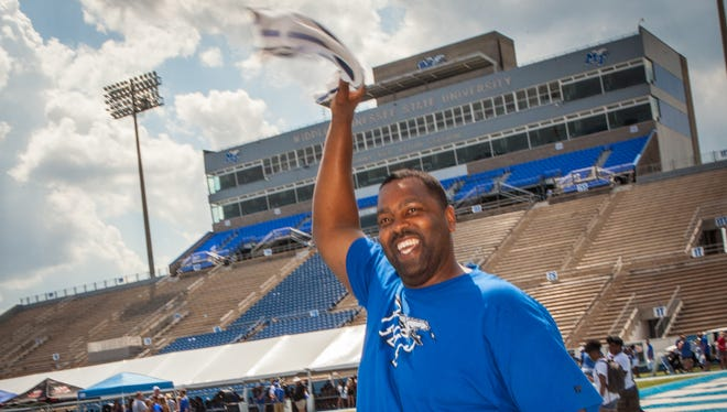 MTSU's annual Fan Day was held Sunday, Aug. 20, 2017.