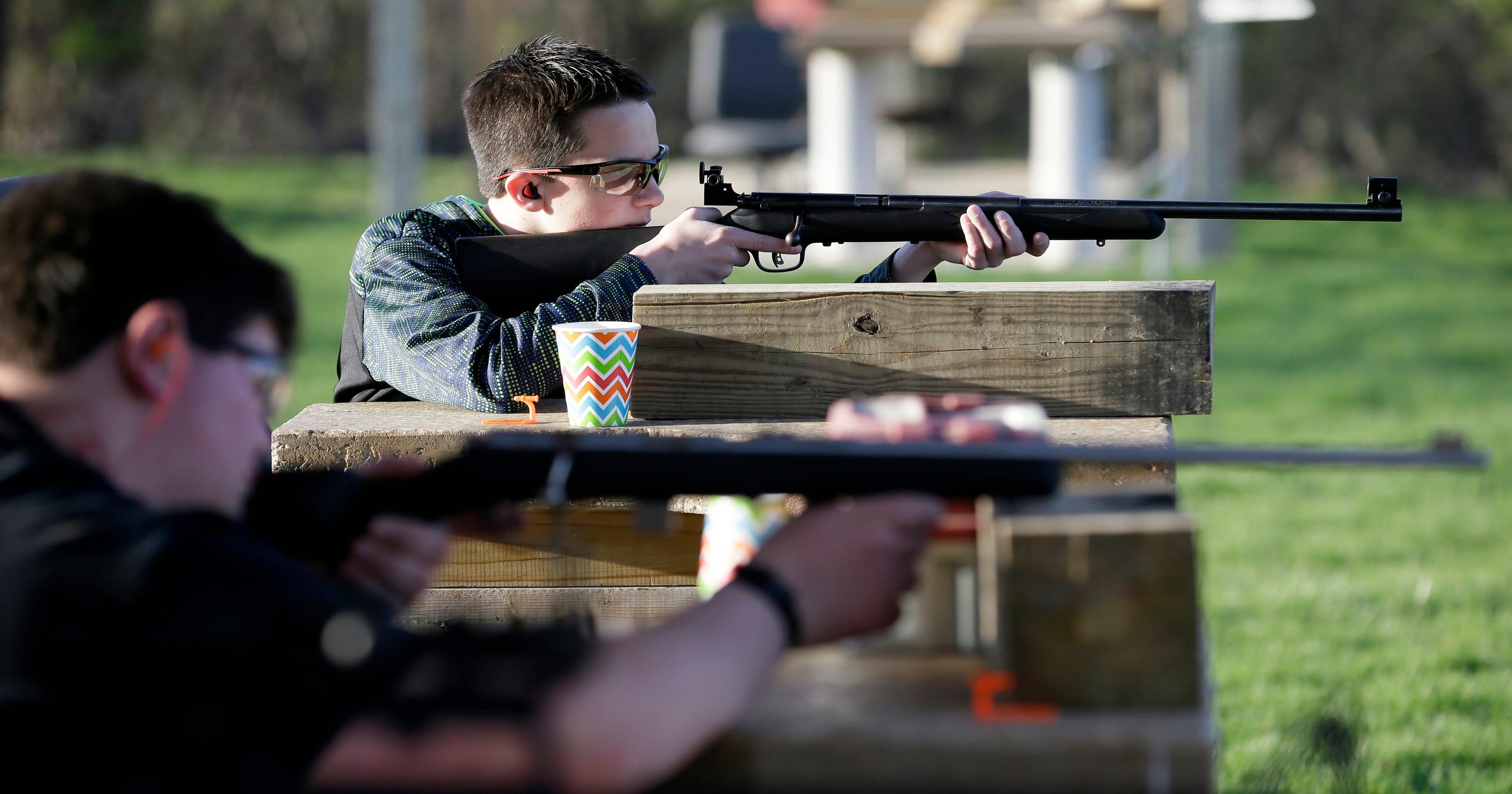 Two rural Iowa middle schools require students train in gun