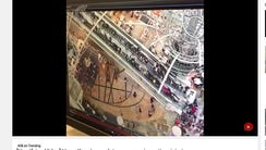 Multiple people were injured Saturday after an escalator