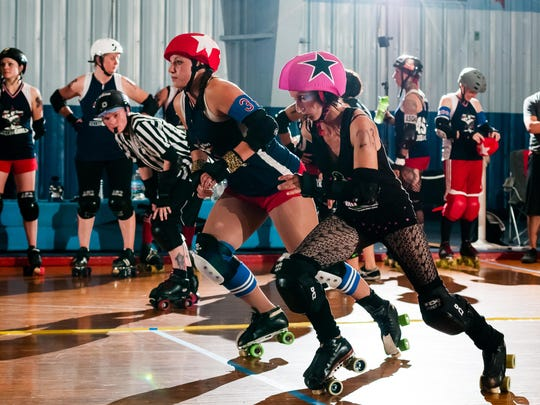 Springfield's Roller Derby Girls open their season,