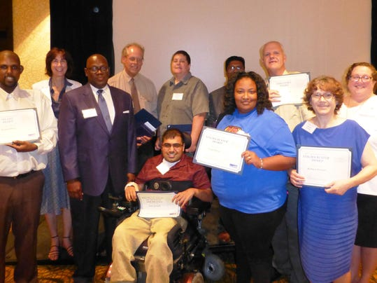 OCCMHA Achievement Award Group Photo